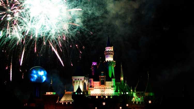 Disneyland met Halloween