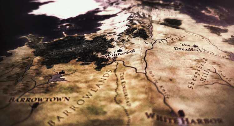 Mapa jugo de tronos