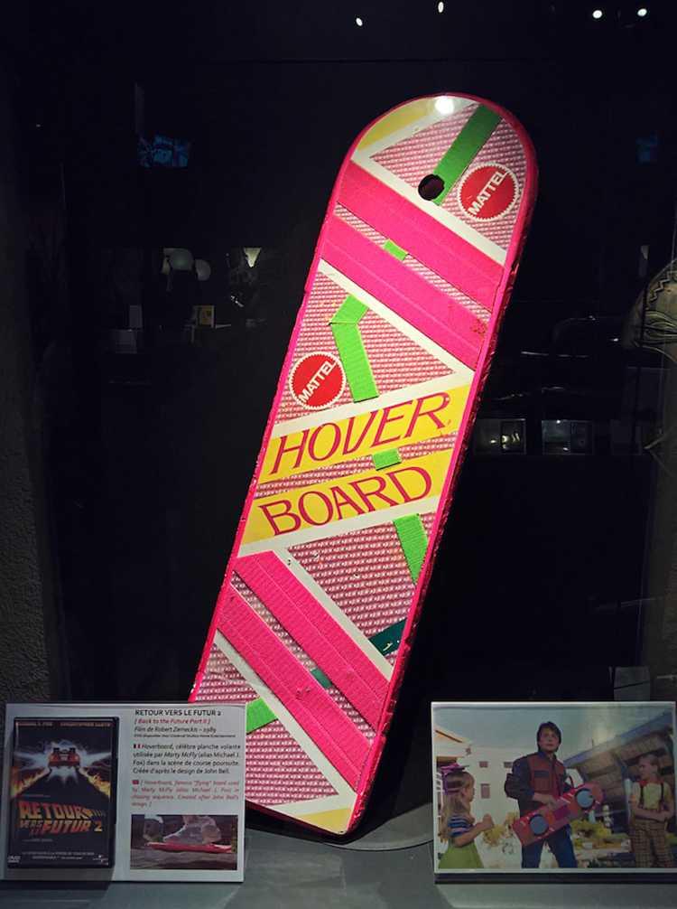 Photo Hoverboard - ©Musée des miniatures et du cinéma