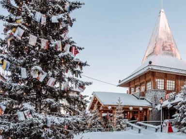 Maison du père Noël à Rovaniemi, Finlande