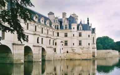 Kasteel gelegen in de Loire