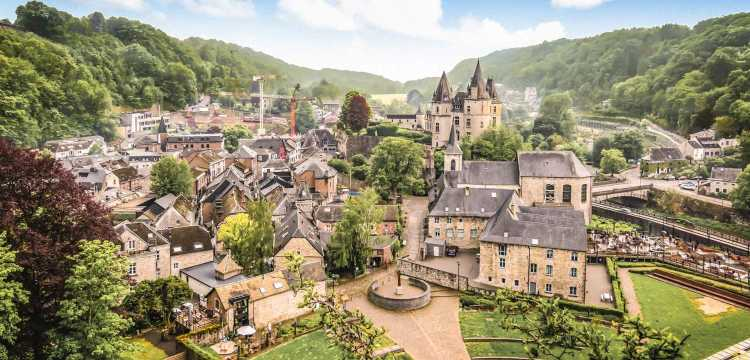Durbuy from above