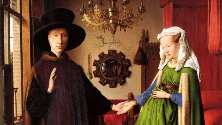 Schilderij van Jan van Eyck