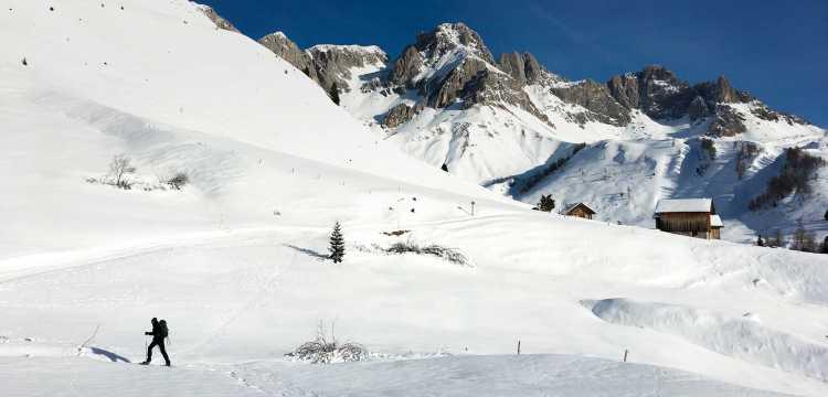 Randonnée à travers les Alpes