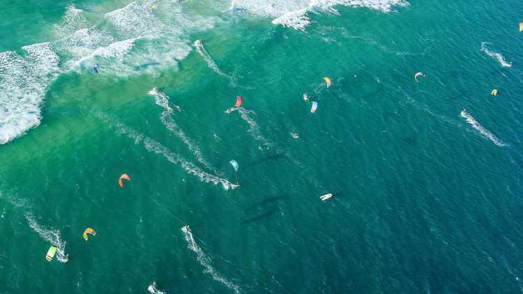 Kitesurf mare