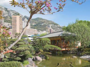Le jardin japonais de Monaco