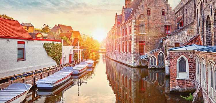 """""""Lac de l'amour"""" à Bruges"""