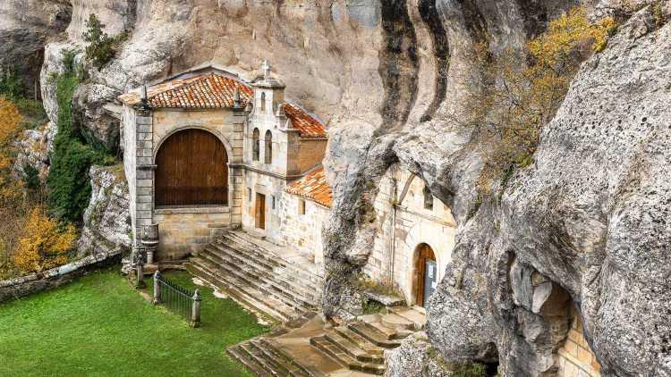 Ermita de San Bernabé, en Ojo Guareña