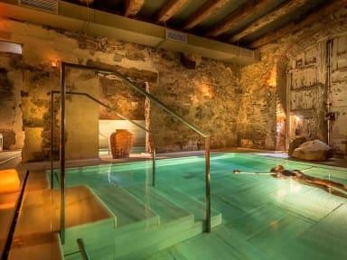 Bains romains antiques de l'hôtel