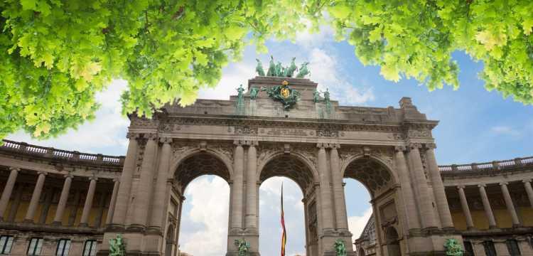 Triomfboog in Brussel