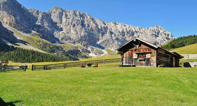 Paesaggio mozzafiato in Trentino