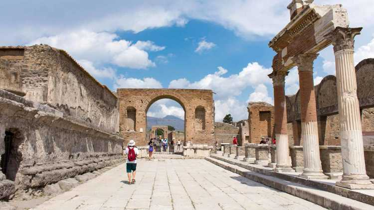 Paseo por Pompeya