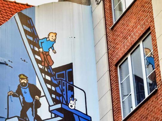 Murale à Bruxelles