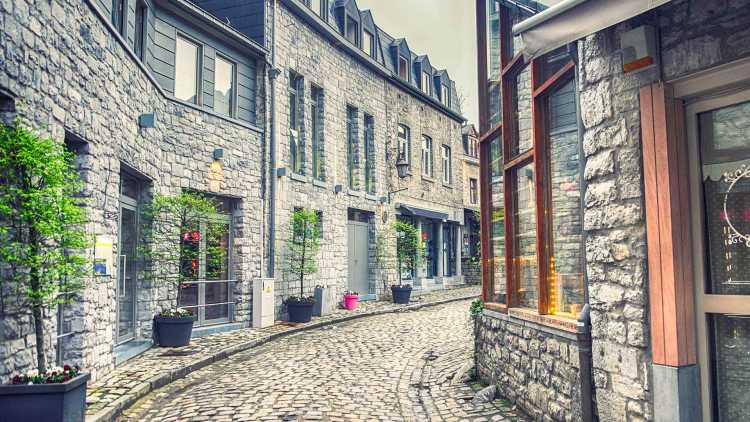 Durbuy streets