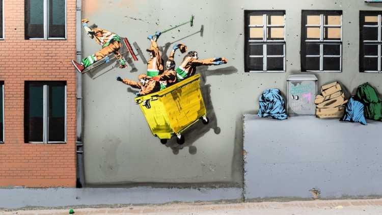 Ostende parcours Street Art
