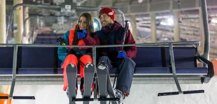 Skiën met Valentijn in Landgraaf
