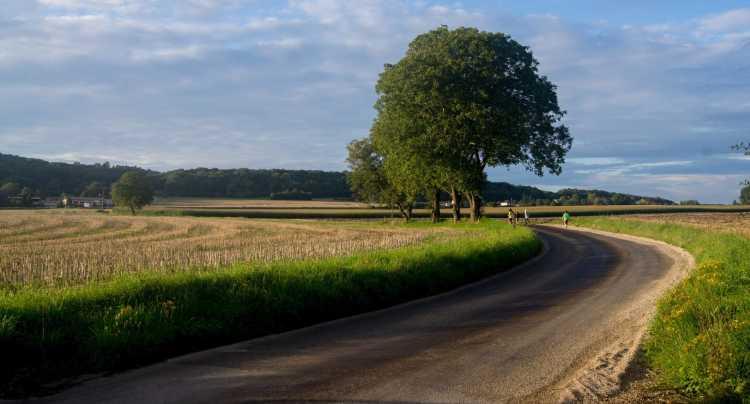 Paysage de la vallée du Doubs