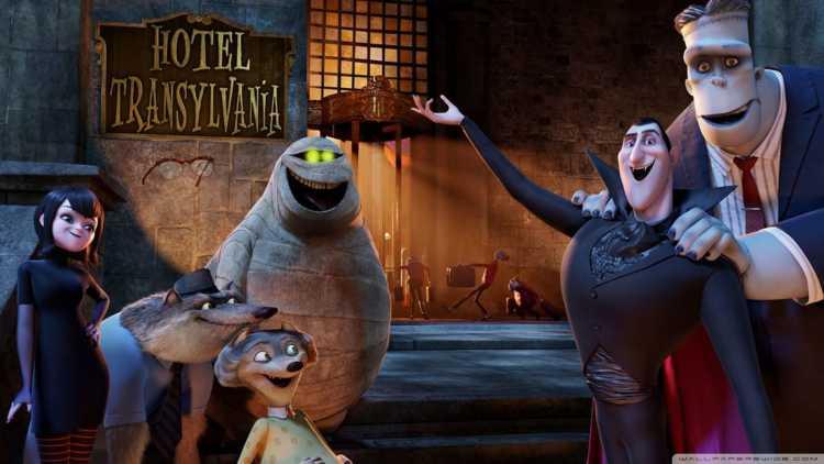 Imagen de la película Hotel Transylvania