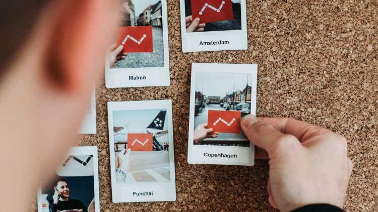 Maak een fotowand met Instax of Polaroid