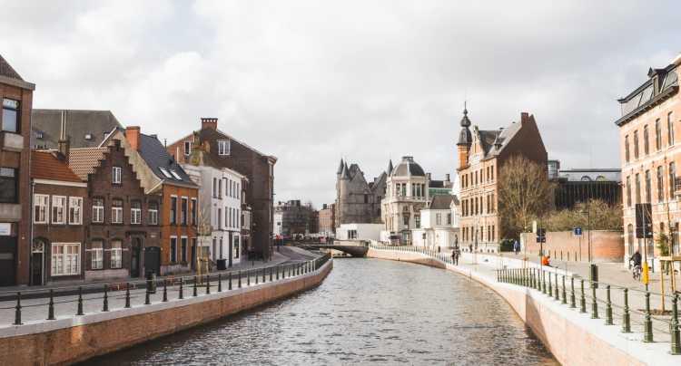 Gand ville flamande