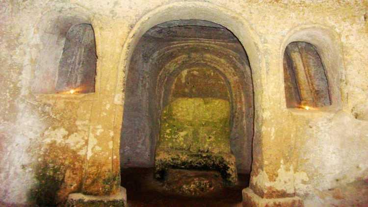 Un esempio di chiesa rupestre