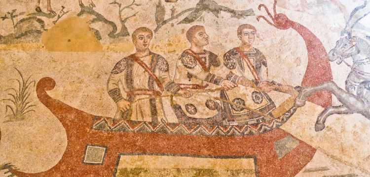 Mosaico Villa del Casale, Sicilia
