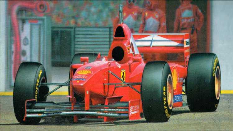 La monoposto Ferrari