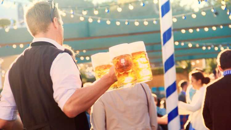 Het Oktoberfest draait om bier