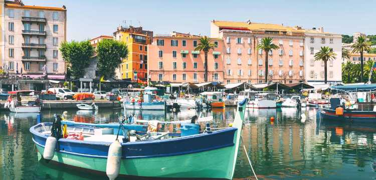 Port en Corse