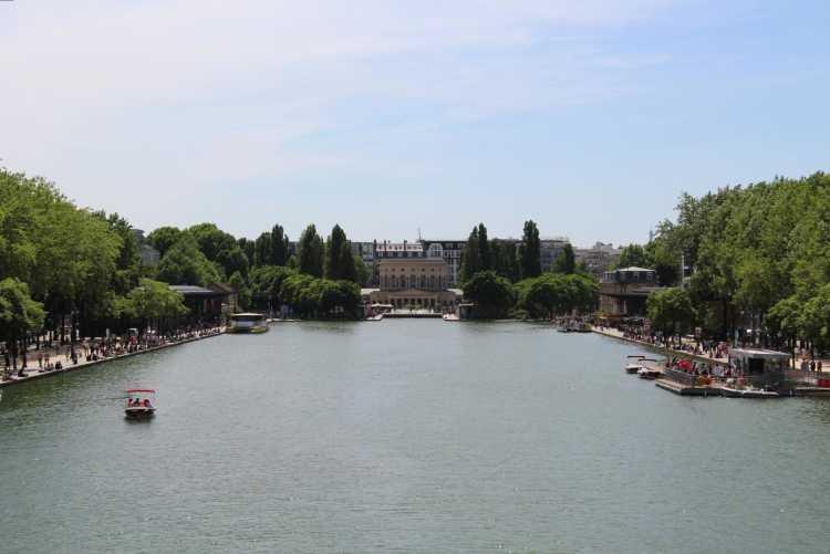 Le bassin de la Villette