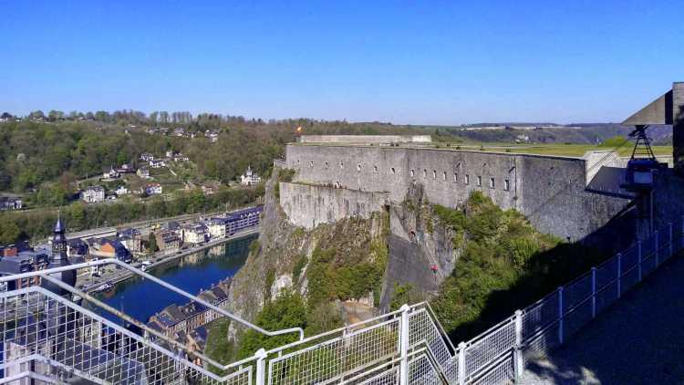Citadel van Dinant, België
