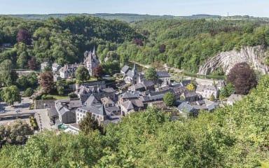 Uitzicht op de stad Durbuy