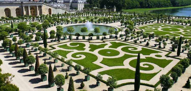 Jardin à la Française - Orangeraie  du Château de Versailles