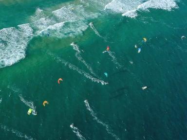 Compétitions de kitesurf