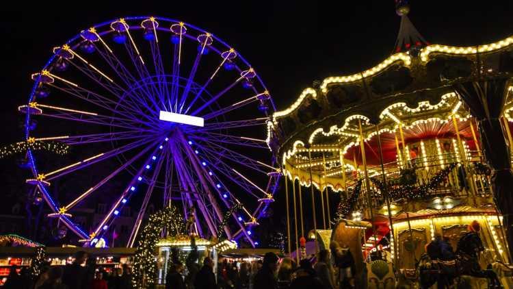 Mercado navideño en Maastricht