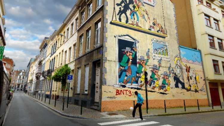 Parcours BD Bruxelles