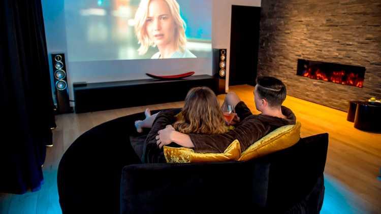 Bioscoop voor twee personen
