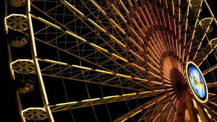 Grande roue place Bellecour