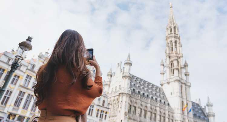 Weekendje weg Brussel met lichtfestival
