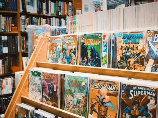 Trouvez vos bandes dessinées préférées