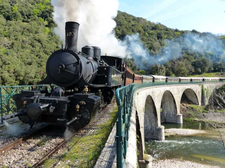 Train de l'Archèche ©Vincent Piotti