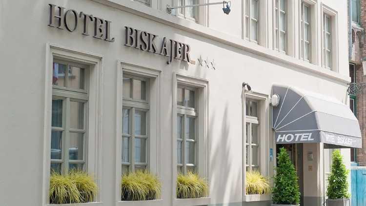 Hotel Biskajer, Brugge