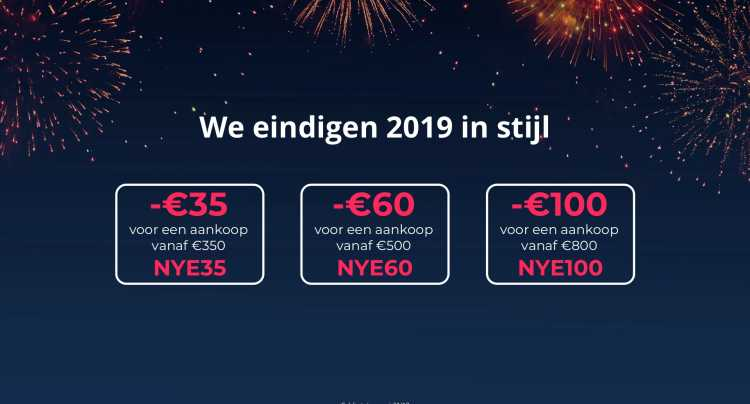 Nieuwjaar kortingscodes