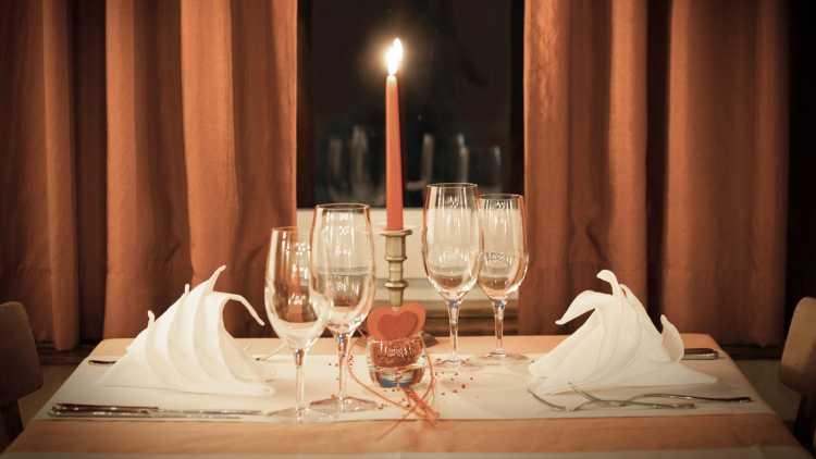 Gastronomisch genieten, Valentijnsdag
