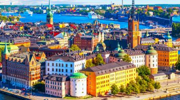 Cheap Flights to Stockholm