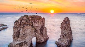 رحلات طيران رخيصة الى بيروت
