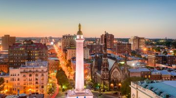 Cheap Flights to Baltimore
