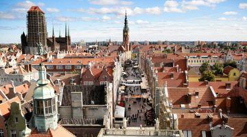 Cheap Flights to Gdansk