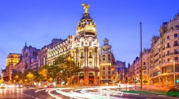Cheap Flights to Madrid