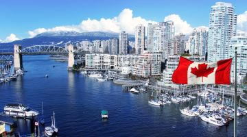 밴쿠버행 저렴한 항공편